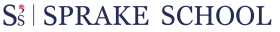 Sprake School Logo Blue
